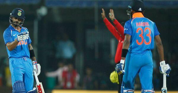 India's winning streak, Hardik Pandya's love for spin: The key stats from India vs Australia 3rd ODI