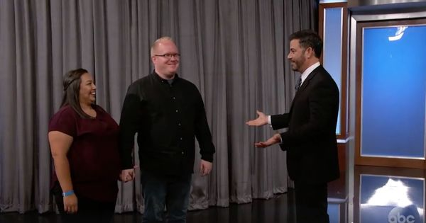Watch: Jimmy Kimmel surprises the couple who lost their engagement ring in a viral video