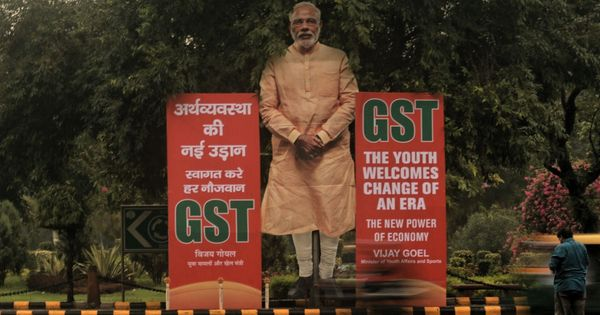 'Not a Gabbar Singh Tax, but not simple either': Economist Pronab Sen on one year of GST rollout