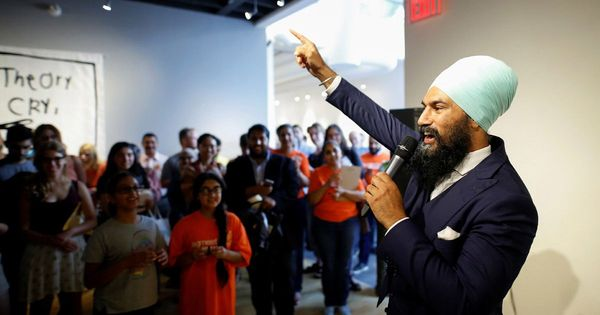How Canadian Sikh politician Jagmeet Singh has successfully battled racism with love