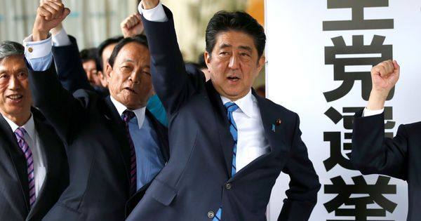 Japanese Prime Minister Shinzo Abe dissolves Parliament, calls snap election