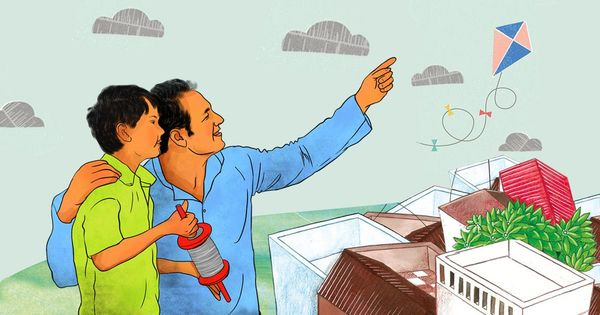 'आज अहसास होता है कि तब पापा ने पतंग नहीं, जिंदगी की डोर संभालना सिखाया था'