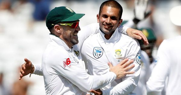 South African batsmen struggle again versus Sri Lanka after Keshav Maharaj's nine-wicket haul