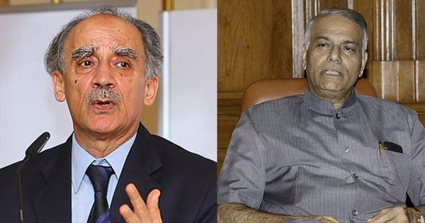 Readers' comments: 'Arun Shourie, Yashwant Sinha are venting their frustrations over being left out'