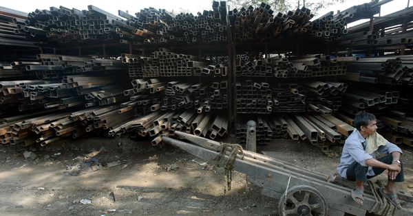 A fifth of India's steel industry is up for grabs – and an intense bidding war is on
