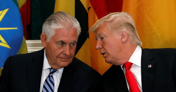 Donald Trump challenges US Secretary of State Rex Tillerson to an IQ test