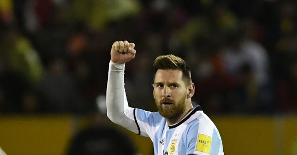 On a night Argentina needed him most, Messi's genius dragged his team to the 2018 World Cup