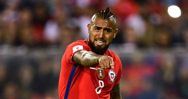 Arturo Vidal retires from international football after Chile fail to qualify for 2018 World Cup