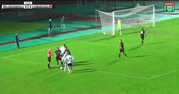 Video: Poor refereeing saw a Russian commentator quit on-air