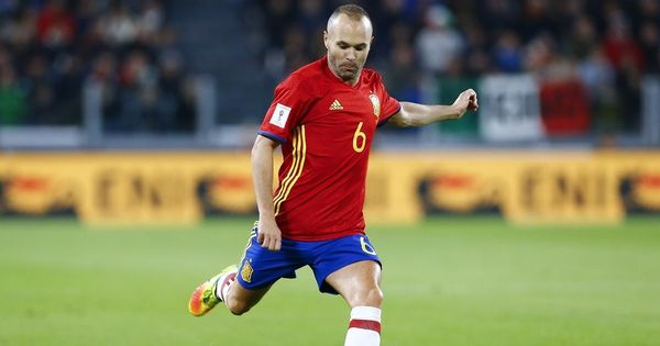 Fifa World Cup: Andres Iniesta hopes Spain will overcome early jitters to beat Iran