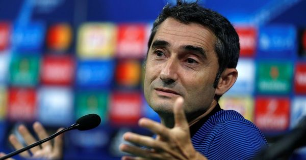 La Liga champions Barcelona extend coach Ernesto Valverde's contract for another season
