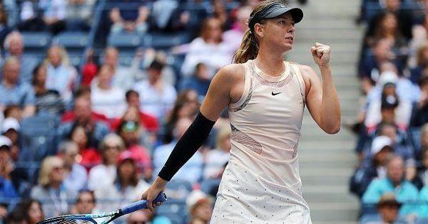 Sharapova wins first title since doping ban, battles past Sabalenka in Tianjin Open final