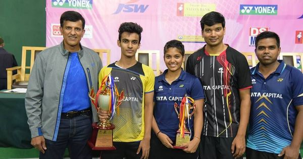 Kiran George, Neha Pandit clinch All India Senior Ranking singles titles