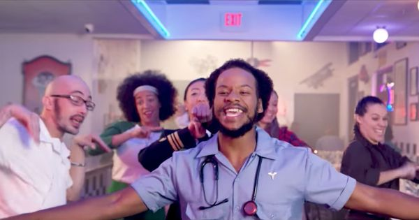 'You really need to act F.A.S.T.': This 'Y.M.C.A.' parody is a manual on recognising a stroke
