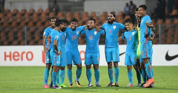 After securing Asian Cup berth, India climb up two places in Fifa rankings