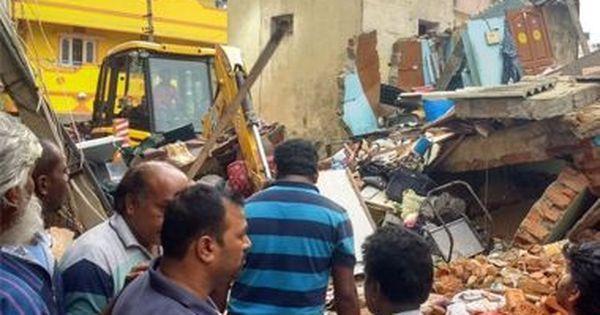 कर्नाटक : बेंगलुरु में एलपीजी सिलिंडर फटने से मकान ढहा, कम से कम सात की मौत