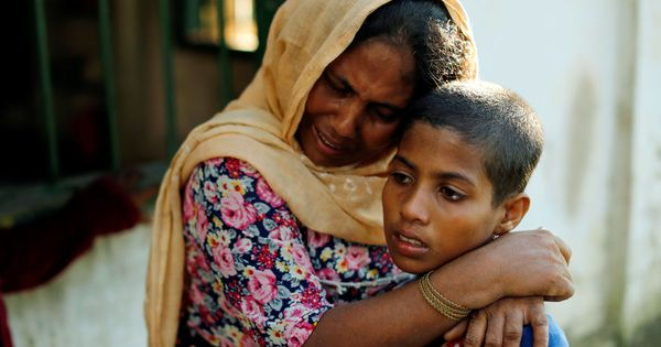Armed with a mic and a small booth, a refugee in Bangladesh is reuniting Rohingya families