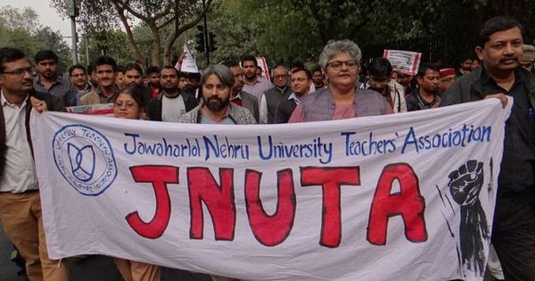 Jawaharlal Nehru University teachers' association initiates public inquiry against vice chancellor