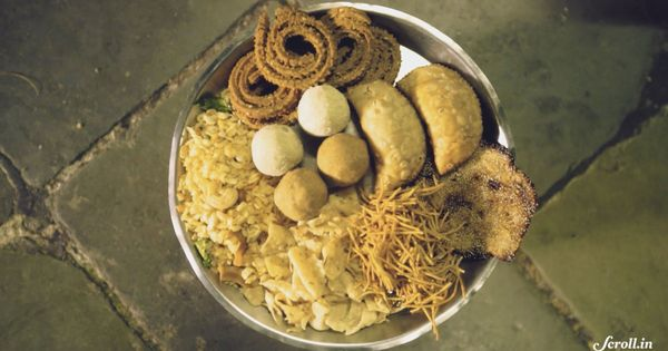 Video: This is what an assortment of authentic Maharashtrian Diwali snacks looks like