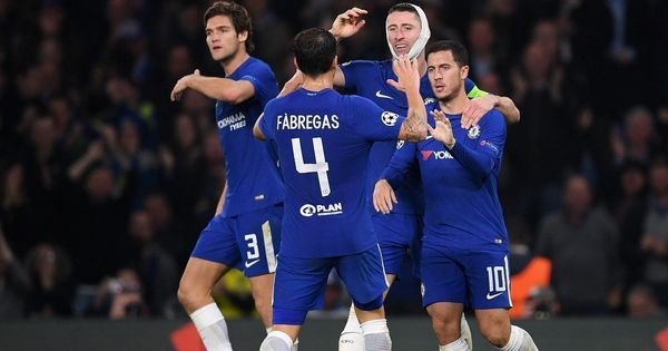 Eden Hazard rescues point for struggling Chelsea in six-goal thriller against Roma