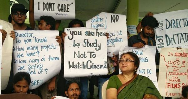 'This takes us back 100 years': Students protest gender segregation at Kolkata film school hostels