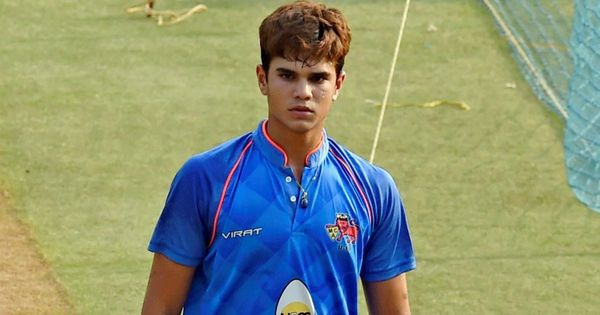 Arjun Tendulkar trains with India team in England, gets tips from Ravi Shastri