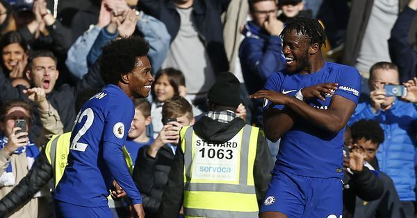 Michy Batshuayi double takes some pressure off Antonio Conte as Chelsea beat Watford 4-2