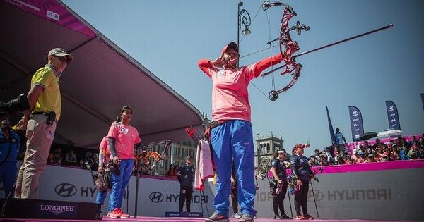 India women bag team silver in World Archery Championship