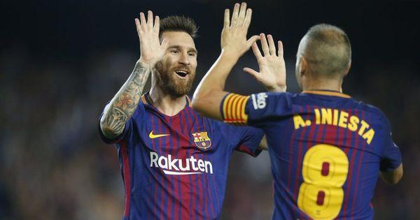 In-form Barcelona continue unbeaten start to season amidst political chaos, beat Malaga 2-0