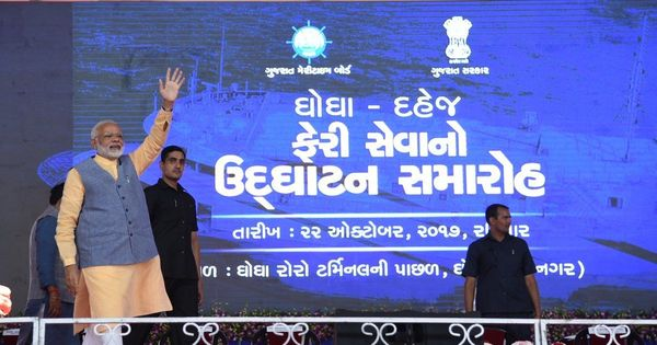 The big news: Modi launches Ghogha-Dahej 'ro-ro' ferry service in Gujarat, and 9 other top stories