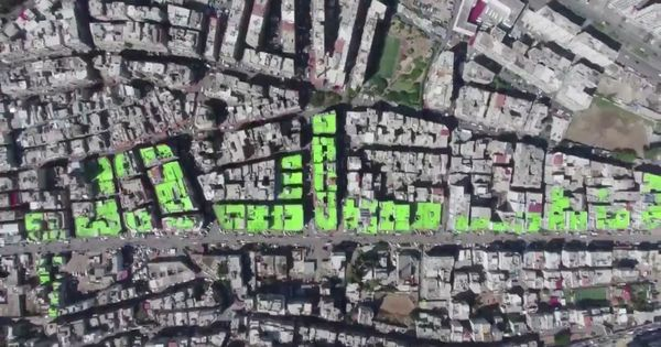Watch: These Lebanon neighbourhoods are fighting each other, but spelling 'peace' on their roofs