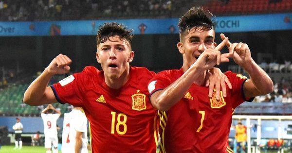 Fifa U-17 World Cup: Spain book semi-final spot after tika-taka proves too hot for Iran