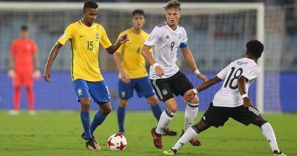Fifa Under-17 World Cup: Paulinho wonder-strike knocks Germany out in Kolkata as Brazil march on