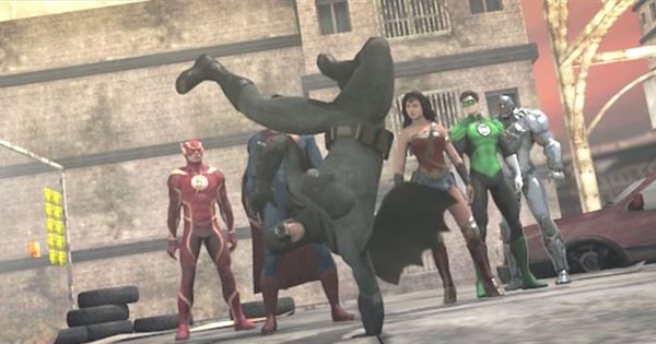 Watch: The Justice League and Avengers confront each other in this hilarious dance battle