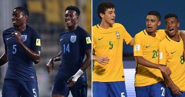 Fifa U-17 World Cup semi-final: Where Brazilian flair meets steely English resolve