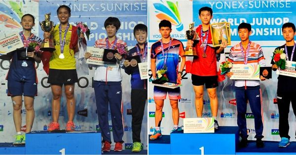 Gregoria Mariska Tunjung, Kunlavut Vitidsarn clinch badminton world junior titles