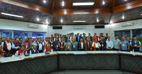 Kuki, Naga militants sign historic pact to 'resolve differences'
