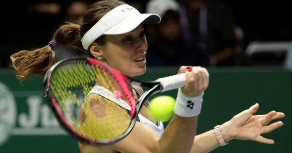 A sad finale: Martina Hingis ends career with  shock defeat in Singapore