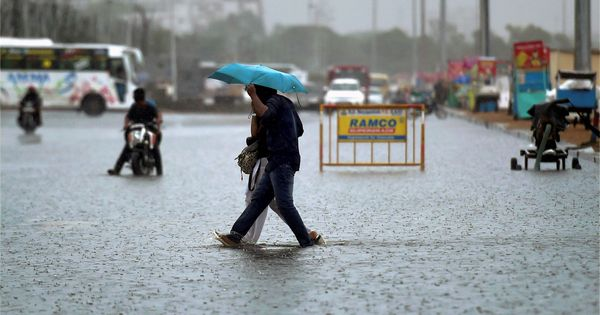 'Water Scares City': Chennai rains splash up memories of 2015 December deluge for social media users