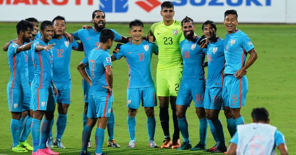 India jump three places to 102nd spot in the latest Fifa rankings