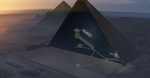 How particle physicists discovered a mysterious structure in the Great Pyramid of Giza