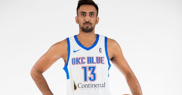 Amjyot makes G League debut, scores three points as Oklahoma City Blue lose to  Bighorns