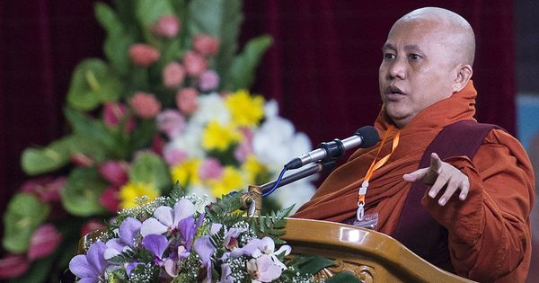 Facebook removes Myanmar monk's page for 'inflammatory posts' about Muslims