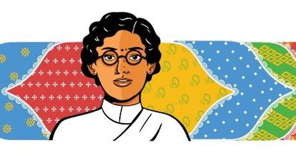 Google celebrates women's labour movement leader Anasuya Sarabhai's 132nd birthday with a doodle