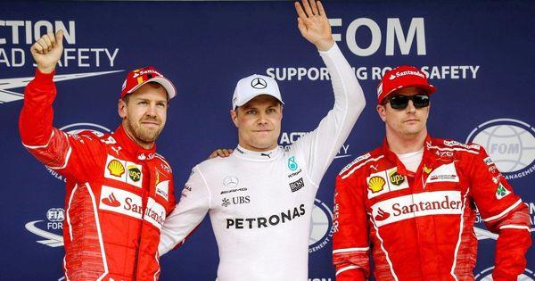 Brazilian GP: Valtteri Bottas grabs pole, Lewis Hamilton crashes out