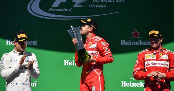 Vettel bounces back in style to win Brazilian GP, Bottas, Raikkonen finish podium