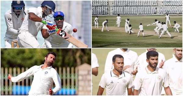 Ranji Trophy highlights: Vijay-Rahul return to form, Mumbai (just about) draw 500th game