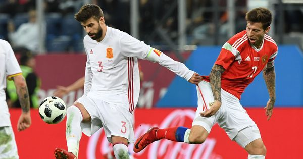 Russia come from behind to hold Spain to thrilling 3-3 draw in friendly