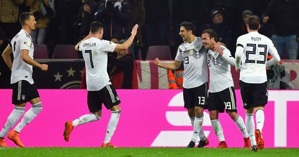 Lars Stindl's 93rd-minute equaliser against France saves Germany's 21-match unbeaten run