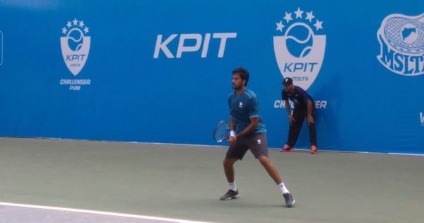 Pune Challenger: Saketh Myneni knocks out top seed Blaz Kavcic to storm into semi-finals